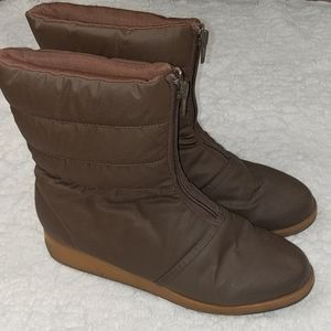 Naturalizer Snow Boot - Front Zip - Size 8.5
